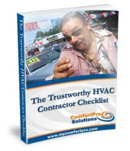The Trustworthy HVAC Contractor Check List2